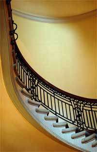 Interior Iron Staircase