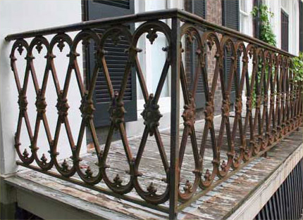 The Painted Surface Painting Decorative Ironwork