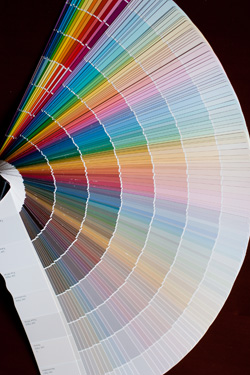 Sherwin Williams Fandeck Color Chart